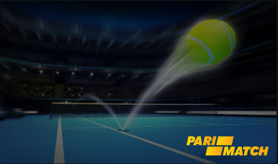 Tennis betting in Parimatch casino