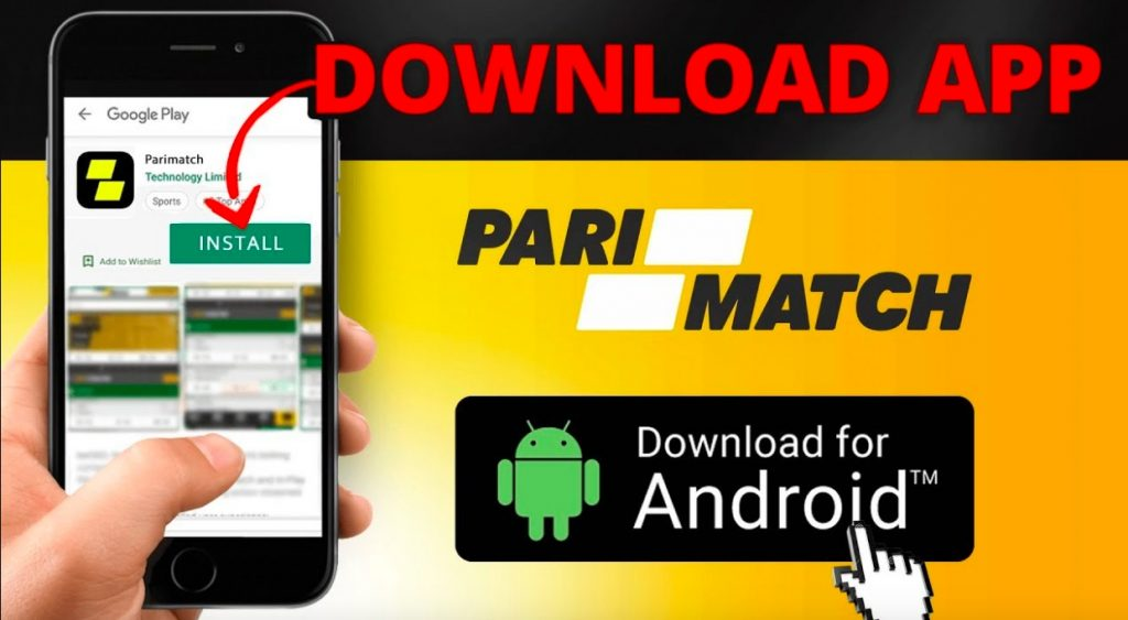 Play PariMatch on your mobile